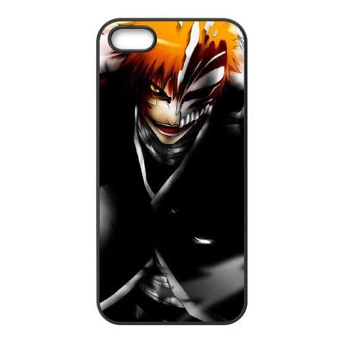 C5G54 drôle Bleachs L3B4EW coque iPhone 4 4s cellulaire cas de téléphone couvercle de coque noire IH7VEA6WI