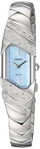 Mother Of Pearl Womans Watch (Seiko Women's 'TRESSIA' Quartz Stainless Steel Casual Watch, Color:Silver-Toned (Model: SUP331))