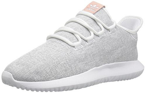 adidas Originals Women's Tubular Shadow W Sneaker, White/Grey Two/White, 9 Medium US