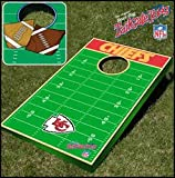Kansas City Chiefs NFL Football Field Bean Bag Toss Game