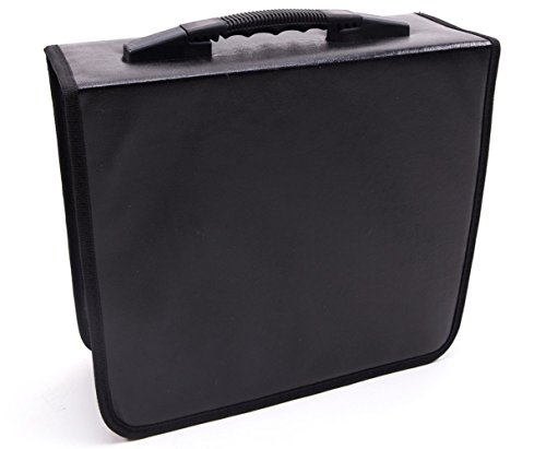 Fasmov 400 Disc CD/DVD Binder DVD Wallet - Dvd / Nylon Disc Cd