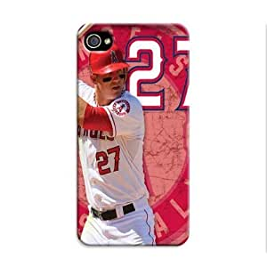 Iphone 5c Protective Case,Beautiful Baseball Iphone 5c Case/Los Angeles Angels Designed Iphone 5c Hard Case/Mlb Hard Case Cover Skin for Iphone 5c