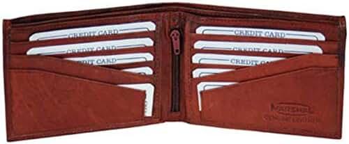 Men's fine cowhide leather wallet style - 533cf