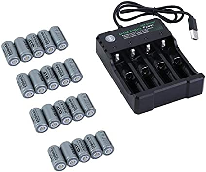 HoganeyVan 4 Slots Batteries Charger for Netgear Arlo Security ...