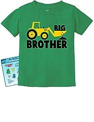 TeeStars - Big Brother Gift for Tractor Loving Boys Toddler/Infant Kids T-Shirt