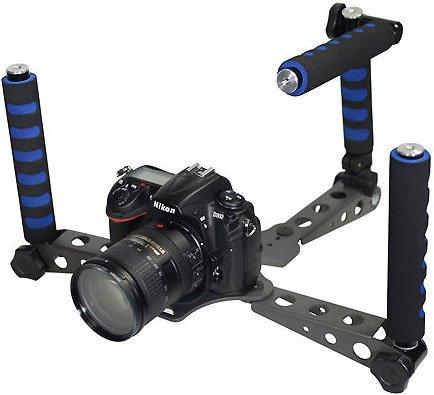 Ivation DSLR Rig Shoulder Mount Movie Kit for DV Cameras & F