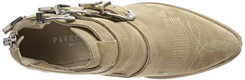 Suede 253 Femme Beige Bottines Carina Beige Cut Pavement qBYwCt