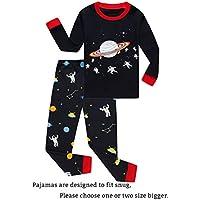 Little Kids Pajamas Sets Pjs 100% Cotton Sleepwears Clothes
