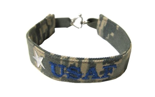Air Force Name Tape Military Bracelet, Air Force Camo Bracelet, Air Force Jewelry, Air Force Gifts