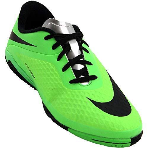 Nike Youth Hypervenom Phelon Indoor Soccer Shoes (NEO Lime/Green) (11.5C)