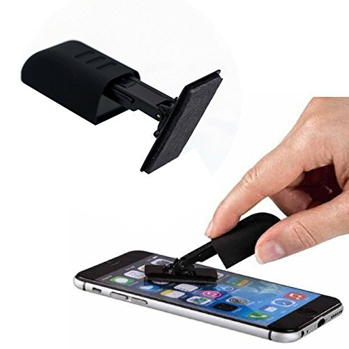 Carbon Klean SmartKlear Smart Phone Screen Cleaner - Efficient and Durable Carbon Microfiber Technology (Injected Purple)