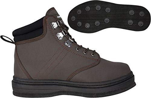95491-PE Compass 360 Stillwater II Felt Sole Wading Shoes, Size 11