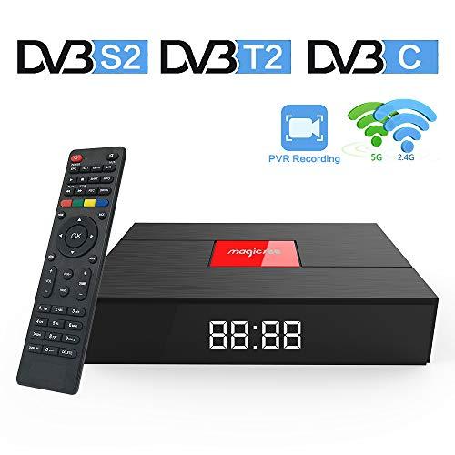 Magicsee C400 Plus Android 7.1 Smart TV BOX S912 DVB T2 S2 Satellite Receiver...