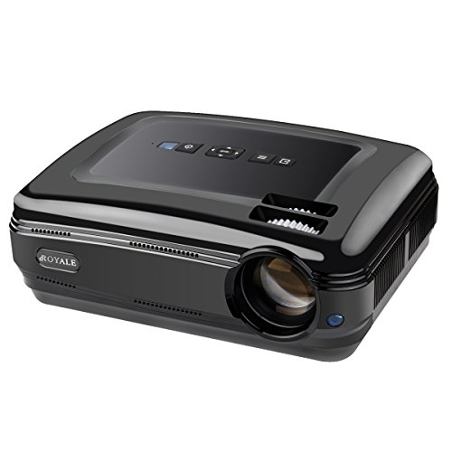 Video projector 1080p hd gaming pc home theater lcd for Hd projector amazon