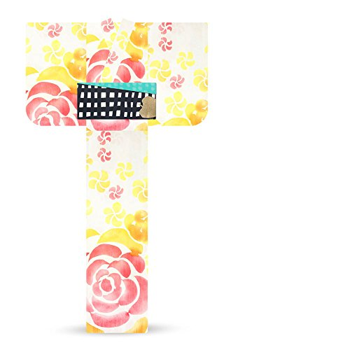 戸惑う大学院ハウジングtsumori chisato ツモリチサト レディース 浴衣 バラ 黄 薔薇6t-11