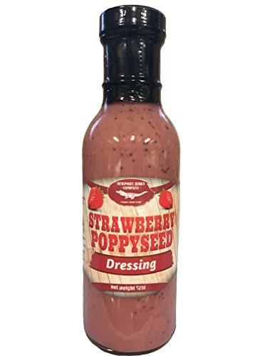 - Strawberry Poppyseed Gourmet Salad Dressing