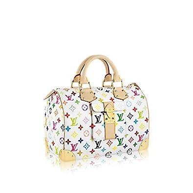 6d76590c6b398 New Louis Vuitton White Speedy 30 Monogram Multicolore Bag  Amazon.co.uk   Shoes   Bags