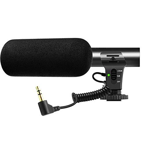 Camera Microphone,Video Microphone for DSLR Interview Shotgun Mic for Canon Nikon Sony Panasonic Fuji Videomic(Except Rebel T5 T6 )