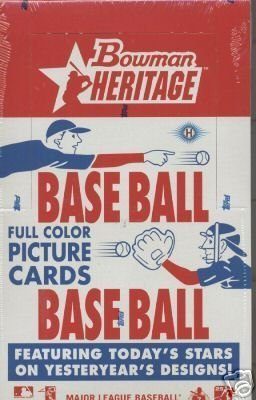 2006 Bowman Heritage Baseball Cards Factory Sealed Hobby Box - 2006 Topps Baseball Cards Hobby
