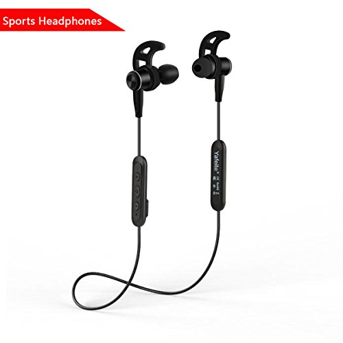 Bluetooth Headset Yafeite wireless sports headphones Magnetic Design earbud microphones Super Sound Quality Bluetooth 4.1 play time 6-7 hours It is suitable for running, jogging, hiking, yoga, sports,