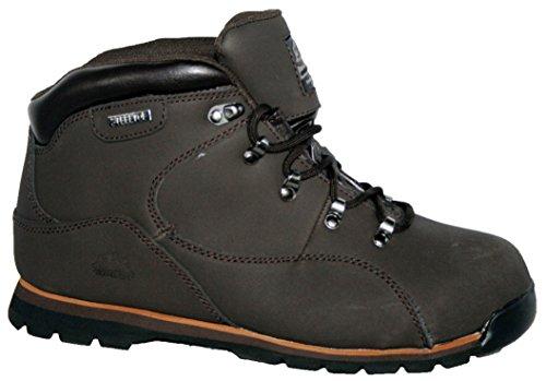 Groundwork - Calzado de protección de Piel para hombre brown plain