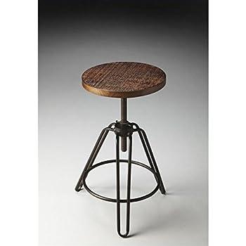 Fine Butler 2050025 Trenton Metal Wood Revolving Bar Stool Machost Co Dining Chair Design Ideas Machostcouk
