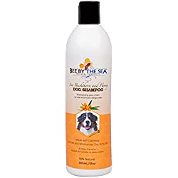 Oatmeal Dog Shampoo - Sea Buckthorn and Honey Soothing Bath Wash For Dry, Itchy Skin and A Shiny Coat