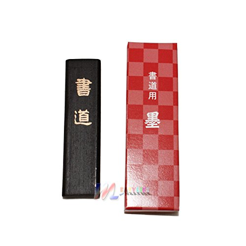 Measylife Japanese Chinese Calligraphy Shodo Black Ink Stick MADE IN JAPAN