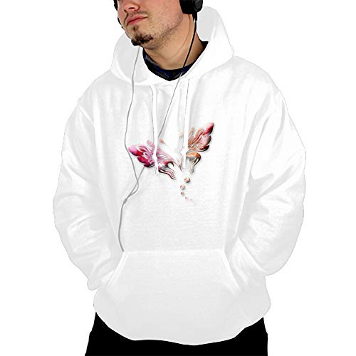 CHINITH Pink Butterfly Female Hoodie Tracksuit Sweat Coat Casual Sportswear