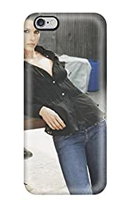 Minnie R. Brungardt's Shop Best 8922091K29694459 durable Protection Case Cover For Iphone 6 Plus(bridget Black Shirt Standing Jeans Blue People Women)