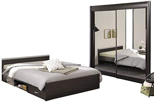 Habitación de los Niños 2 Piezas Marrón/Gris con Función cama + ...