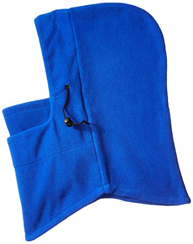 - Nova Sport Wear Fleece Balaclava Hooded Face Mask Neck Warmer (Blue)