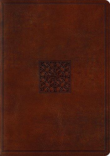ESV Study Bible: English Standard Version, Trutone, Walnut, Celtic Imprint Design