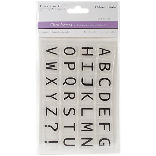 Alphabet Cling Stamp - 3