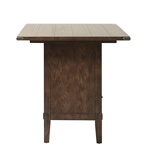 Amazon.com - Liberty Furniture Cabin Fever Counter Height Dining Table in Brown - Tables