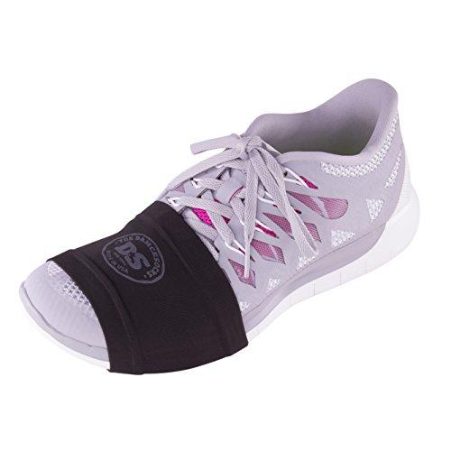 THE DANCESOCKS - Sneaker Socks for Dancing on Smooth Floors (Black 2 Pairs)