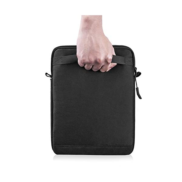 tomtoc-11-Inch-Tablet-Shoulder-Bag-for-11-Inch-New-iPad-Pro-105-Inch-New-iPad-Air-2019-105-iPad-Pro-97-iPad-Microsoft-Surface-Go-Samsung-Galaxy-Tablet-Fit-Apple-Pencil-and-Smart-Keyboard