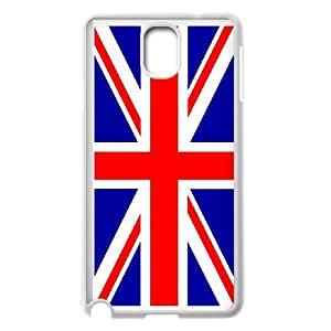 Grunge British Flag Samsung Galaxy Note 3 Cell Phone Case White Phone cover T7428454