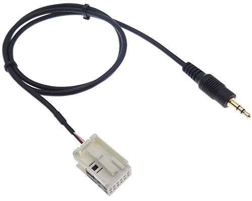 AUX Line In Adapter Cable Connector Compatible with: Amazon.co.uk: Electronics