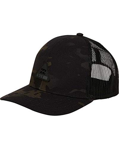 5affe291d46 Amazon.com  Billabong Men s Multicam Trucker Hat Black Camo One Size ...