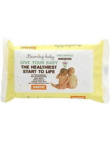 Beaming Baby Caso Toallitas Bebé Orgánico Sensible de 12