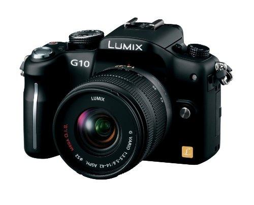 Panasonic digital SLR camera LUMIX  G1 W Lens Kit black DMC-