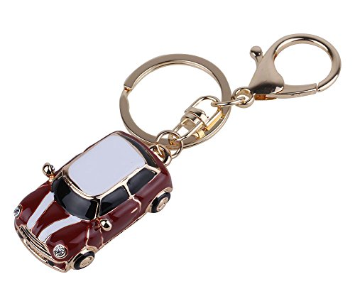 Leegoal Novelty Holder Rhinestone Keychain