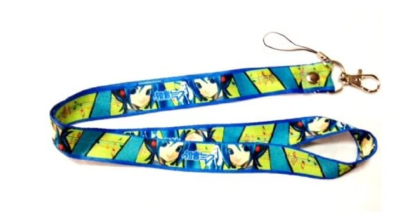 Amazon.com: Miku Hatsune Lanyard Llavero titular: Automotive