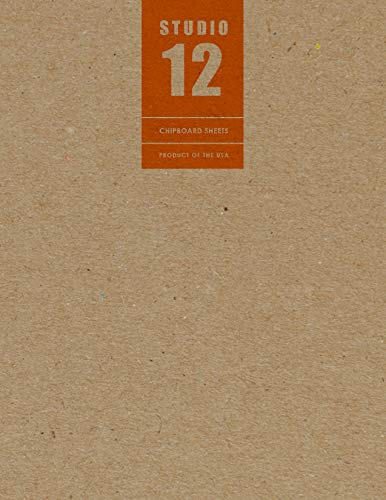 Chipboard Sheets, Kraft Brown. Great for creative projects and protecting valuable photos and documents. (Jumbo 8.5