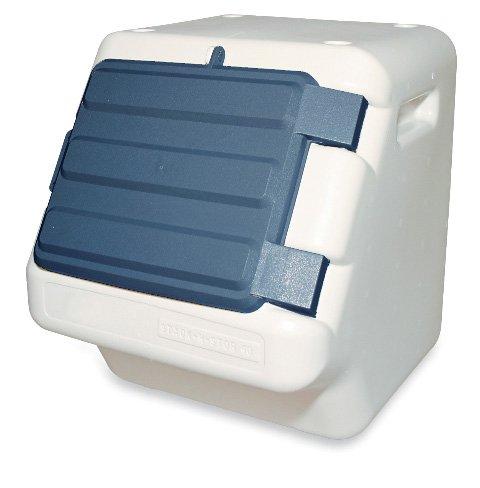 100 lb pet food storage container bin dog meal animal feeding 24 gal capacity