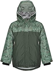 Therm Kids Winter Coat, Waterproof Ski Jacket for Girls and Boys - Insulated, Fleece Lined - Toddler to Youth
