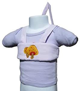Baby / Toddler Walking Harness (Pink with Mushrooms)