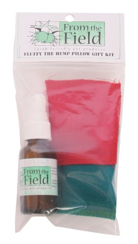Image of From The Field Fluffy the Hemp Pillow Catnip Toy Gift Kit