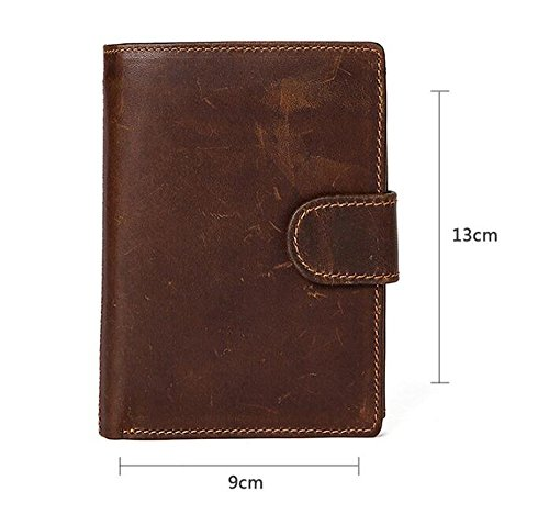 buckle belt wallet multi wallet Men's NHGY short card Leather qtIPf